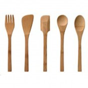 Wooden kitchen utensils Photo - 1