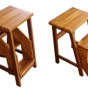 Wooden step stools for the kitchen Photo - 1