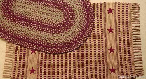 Woven kitchen rugs Photo - 12
