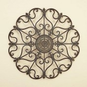 Wrought iron kitchen decor Photo - 1