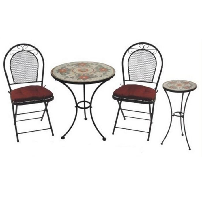 Wrought Iron Table And Chair Set Wrought Iron Table And