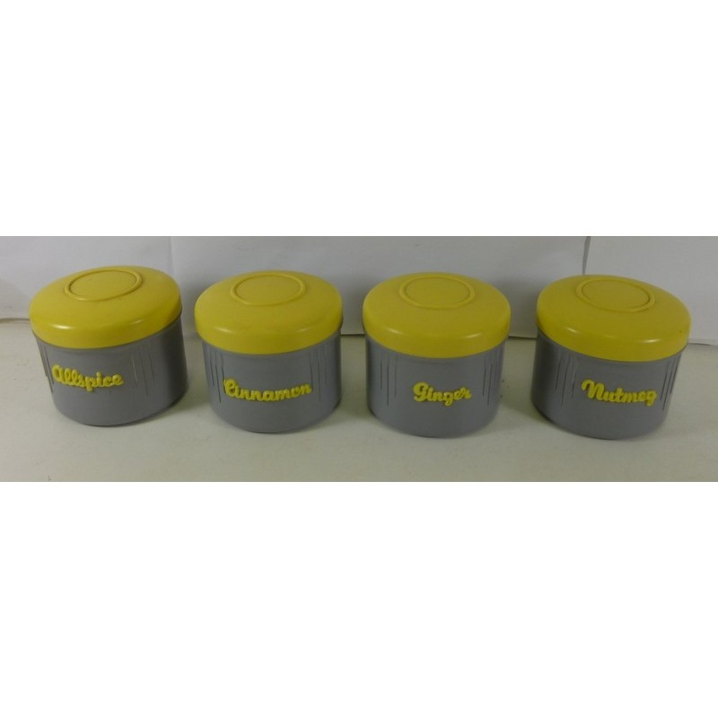 Great yellow kitchen canister set images kitchen white for Kitchen set 2015