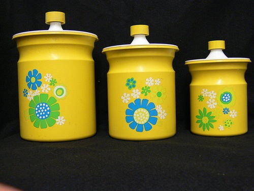 Yellow kitchen canister set Photo - 7 | Kitchen ideas