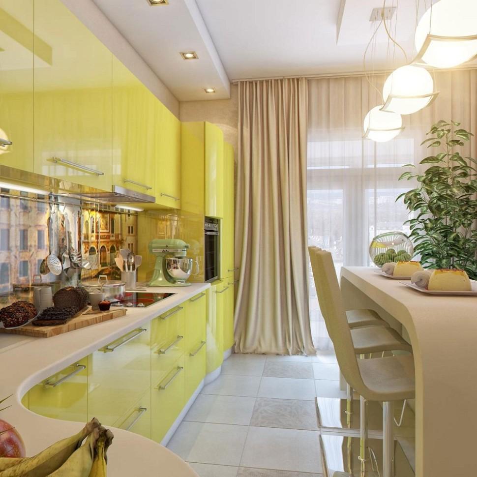 Yellow kitchen chairs Photo - 11
