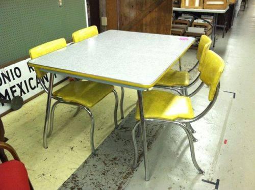 Yellow kitchen chairs Photo - 12