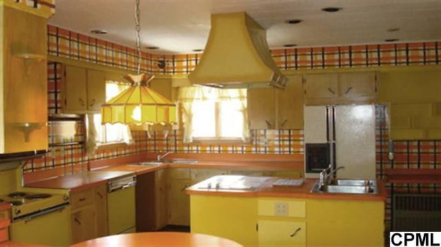 Yellow kitchen curtains valances Photo - 10