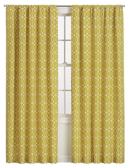 Yellow kitchen curtains valances Photo - 3