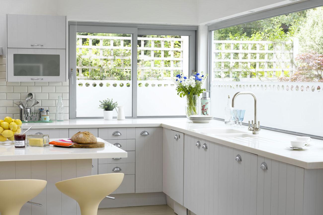 Yellow kitchen curtains valances Photo - 7