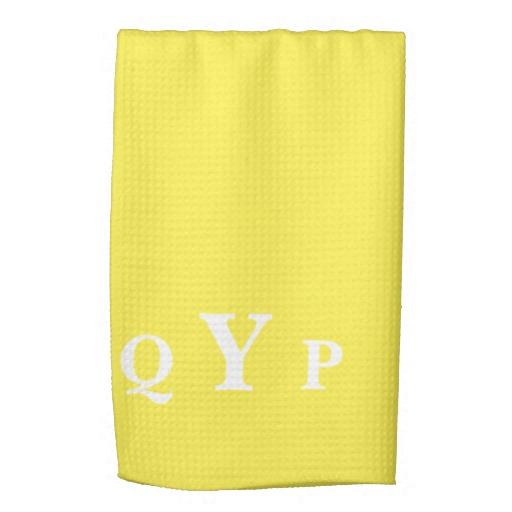 Yellow kitchen towels Photo - 2