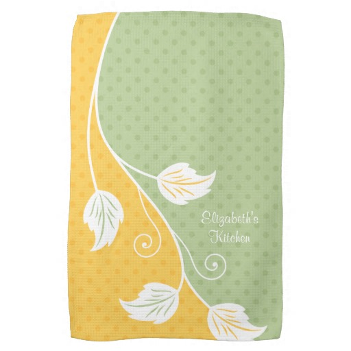 Yellow kitchen towels Photo - 3