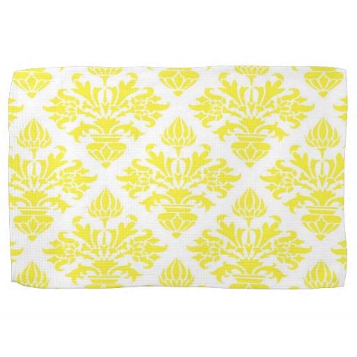 Yellow kitchen towels Photo - 6