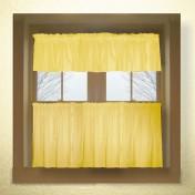 Yellow kitchen valance Photo - 1
