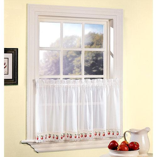 Apple kitchen curtains photo - 2