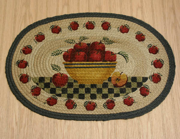 apple kitchen rugs - home decors collection