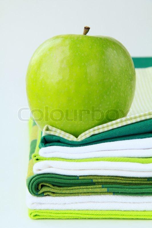 Apple kitchen towels photo - 3