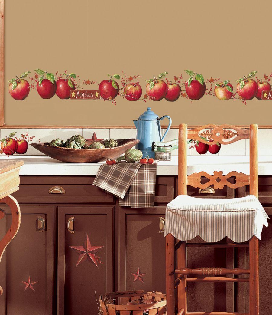 Apple wall decor kitchen photo - 3
