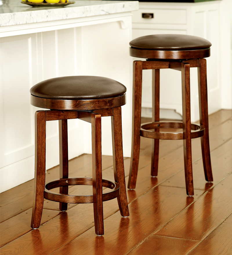 Backless counter stools for kitchen photo - 1