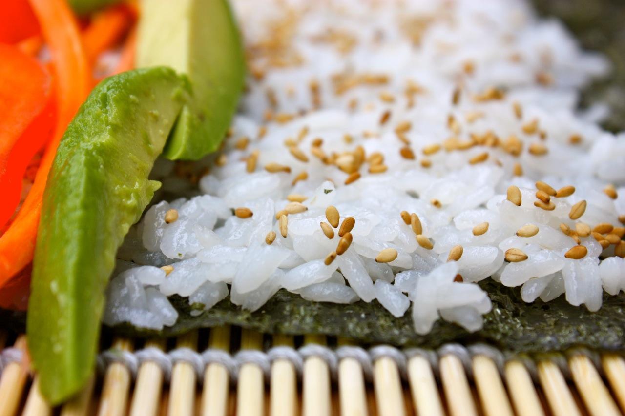 Bamboo kitchen mat photo - 3