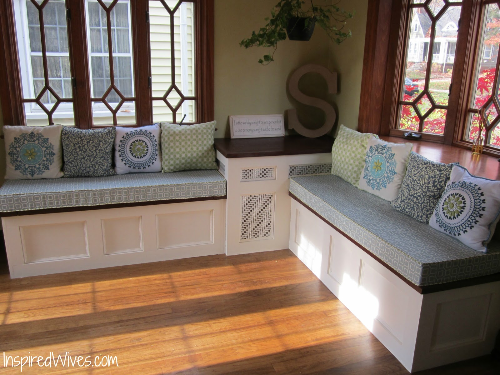 Kitchen Table With Built In Bench Seat Dining