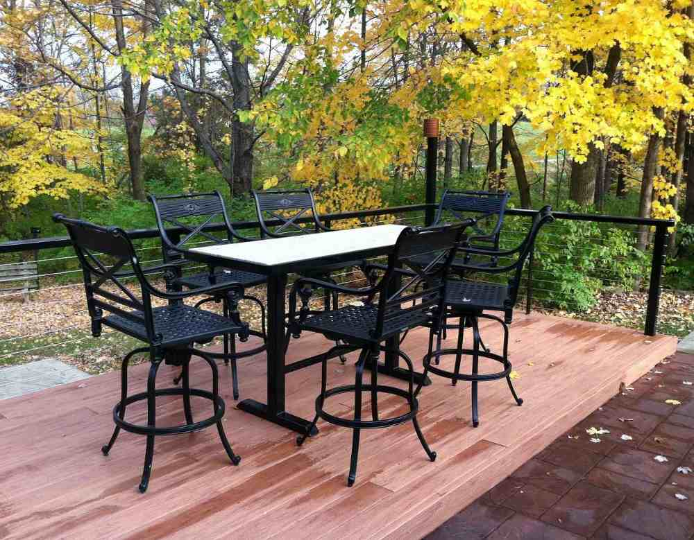 Bistro table sets for kitchen photo - 2