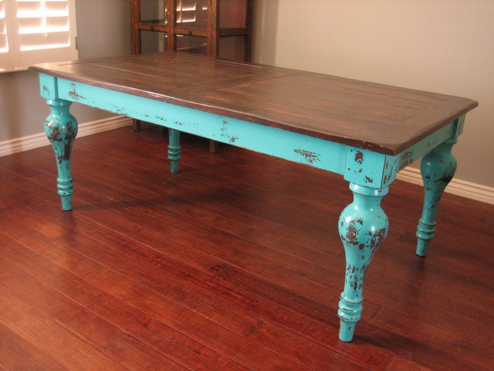 black distressed kitchen table | kitchen ideas