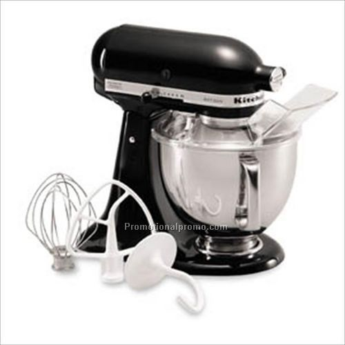 Black kitchen aid mixer photo - 3