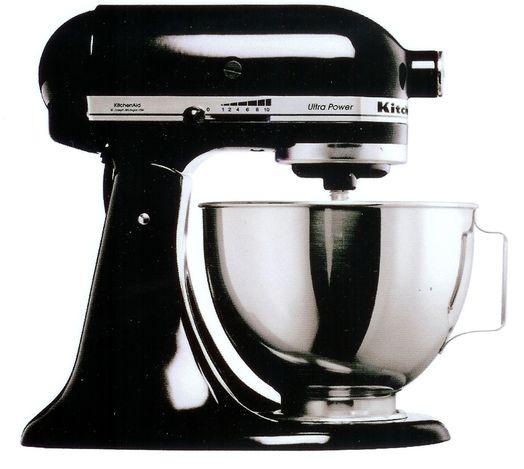 Black kitchenaid photo - 1