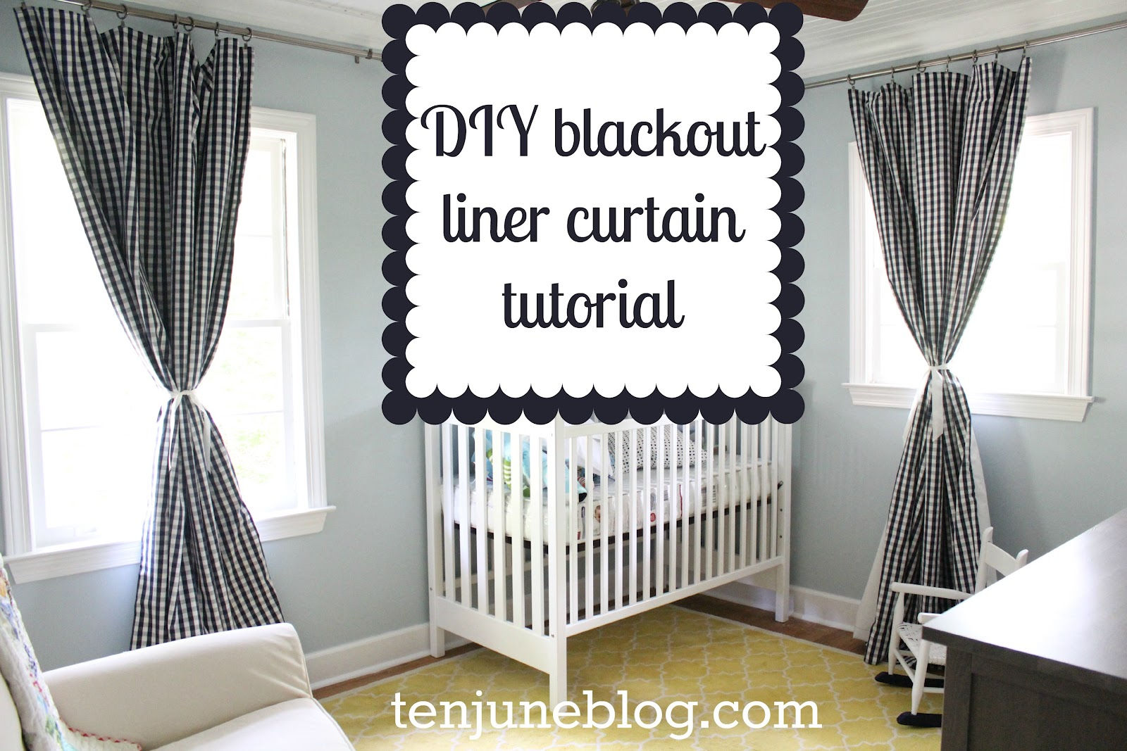 Blackout kitchen curtains photo - 1