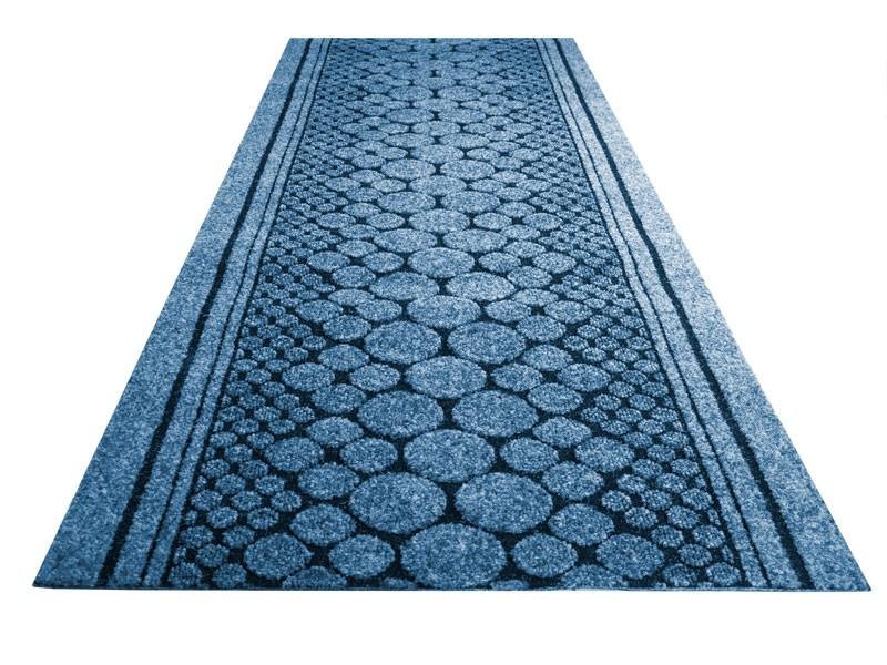 Blue kitchen mat photo - 3