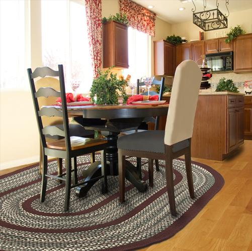 10 Photos To Braided Kitchen Rugs