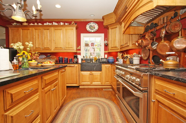 Braided kitchen rugs photo - 2