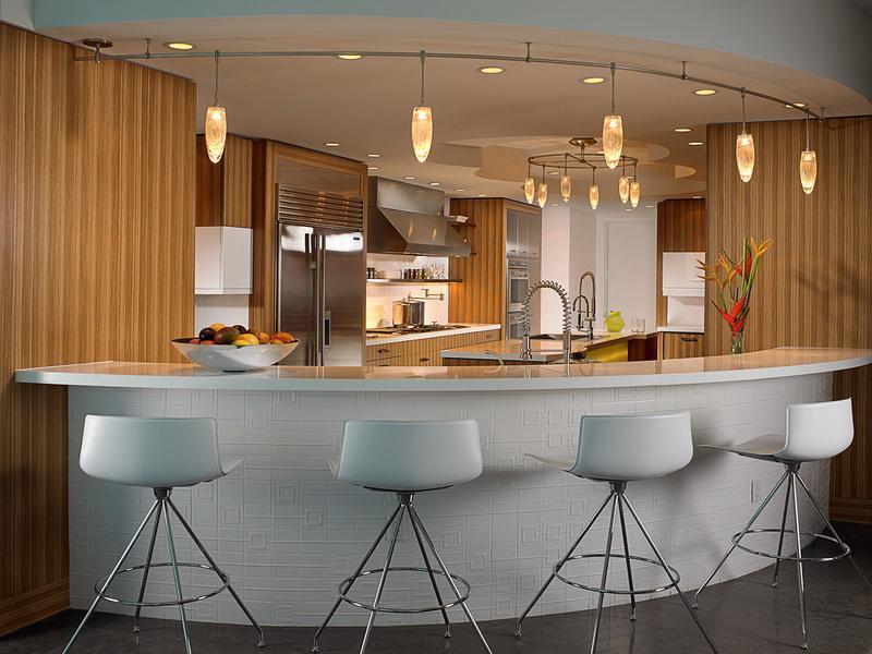 Breakfast bar kitchen island photo - 2