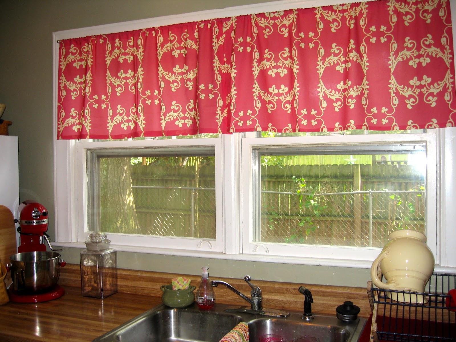 Brown kitchen curtains photo - 1