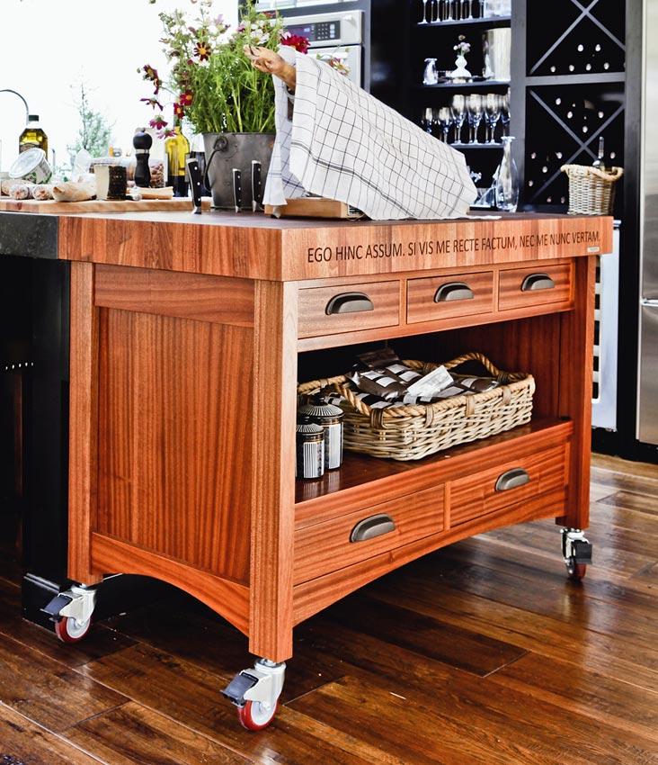 Butcher block kitchen island cart – Kitchen ideas