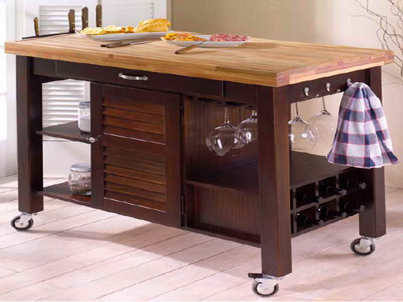 Butcher Block Kitchen Island Cart Kitchen Ideas