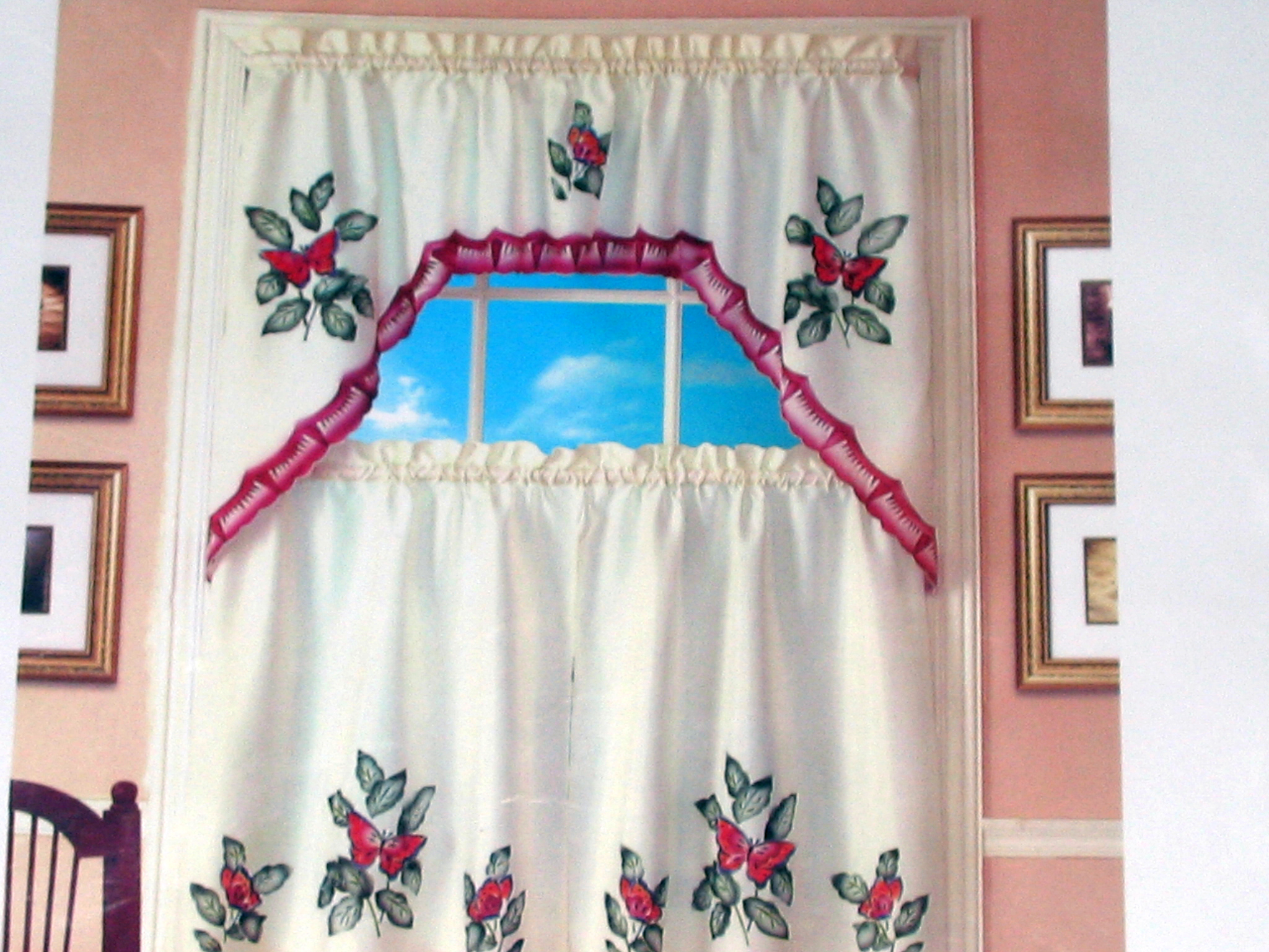 Superbe 10 Photos To Butterfly Kitchen Curtains