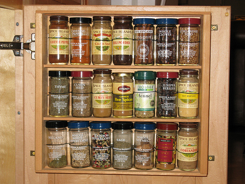 Cabinet racks kitchen photo - 2