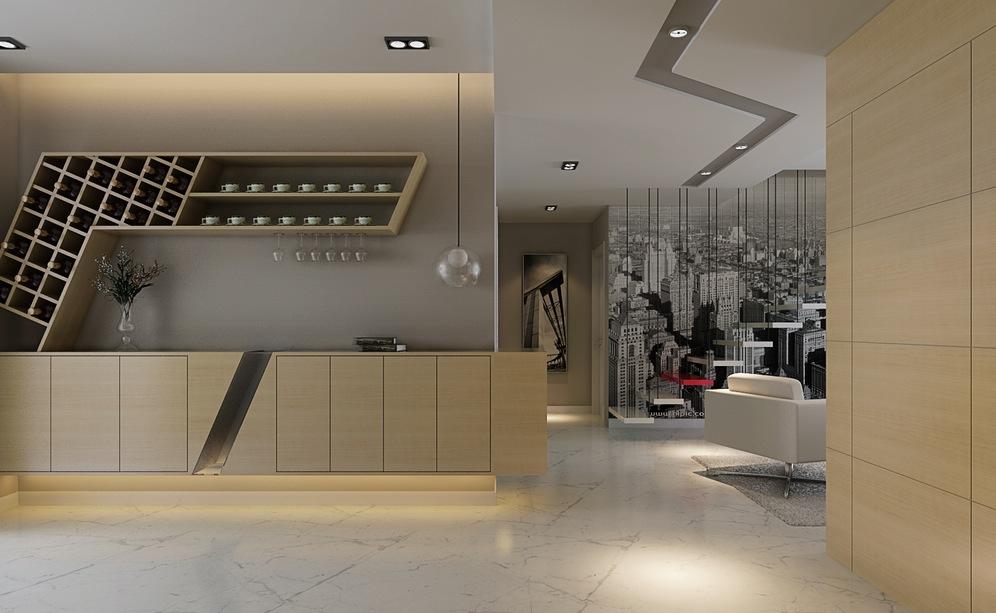Cabinet racks kitchen photo - 3
