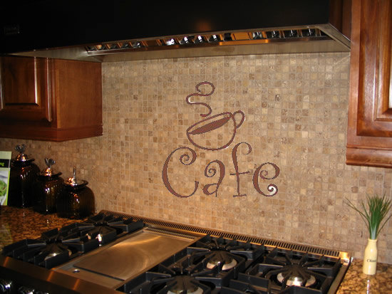 Cafe latte kitchen decor photo - 2