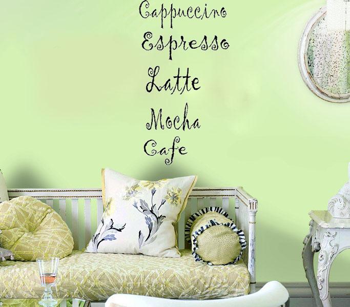 Cafe latte kitchen decor photo - 3