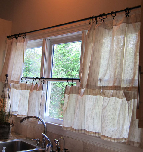 10 Photos To Cafe Style Kitchen Curtains