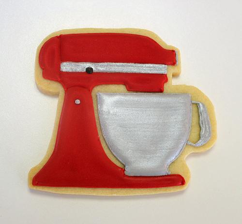 Cake mixer kitchenaid photo - 2