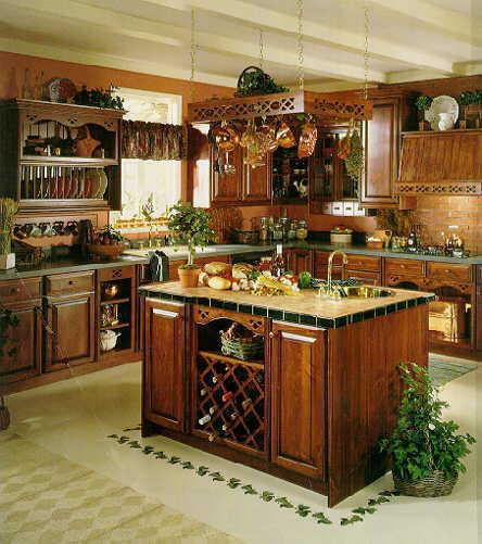 Center island kitchen photo - 2