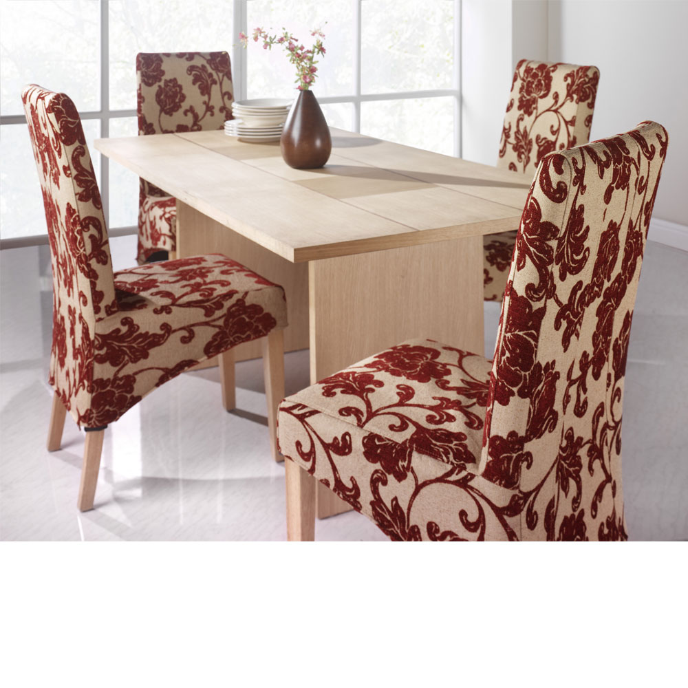 Chair covers for kitchen chairs photo - 2