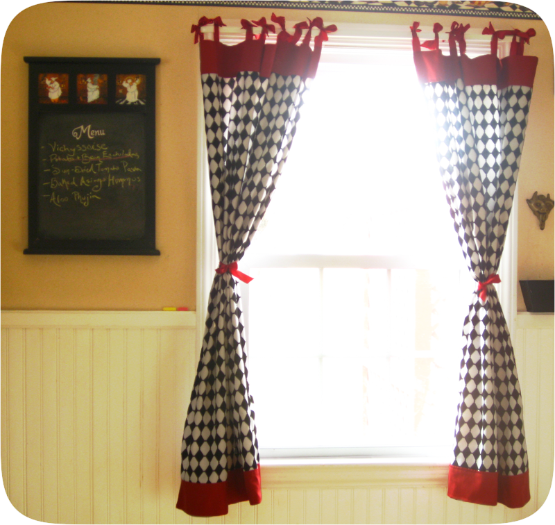 10 Photos To Checkered Kitchen Curtains