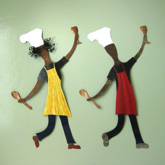 Chef man kitchen decor photo - 3