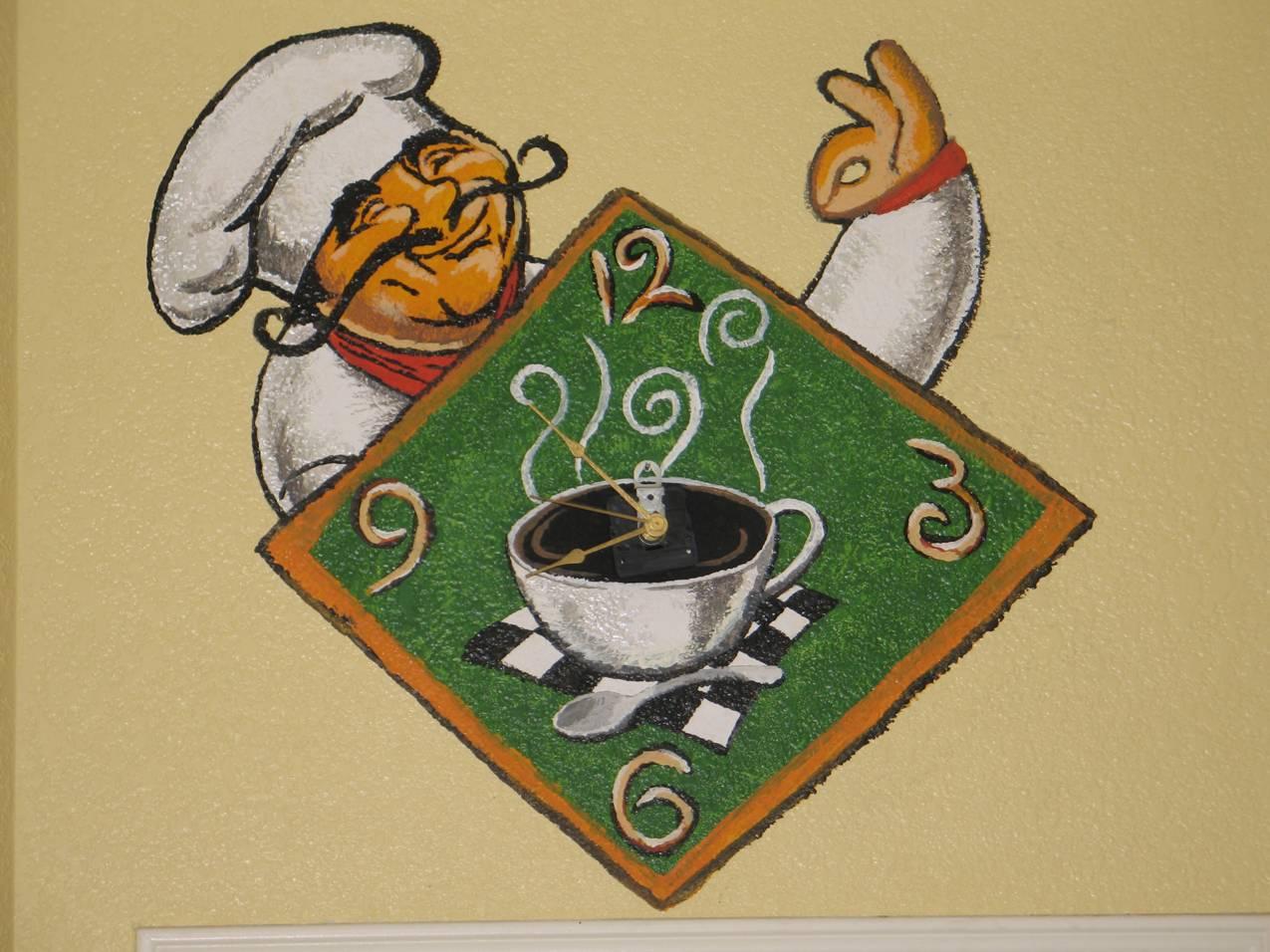 Chef themed kitchen decor photo - 1
