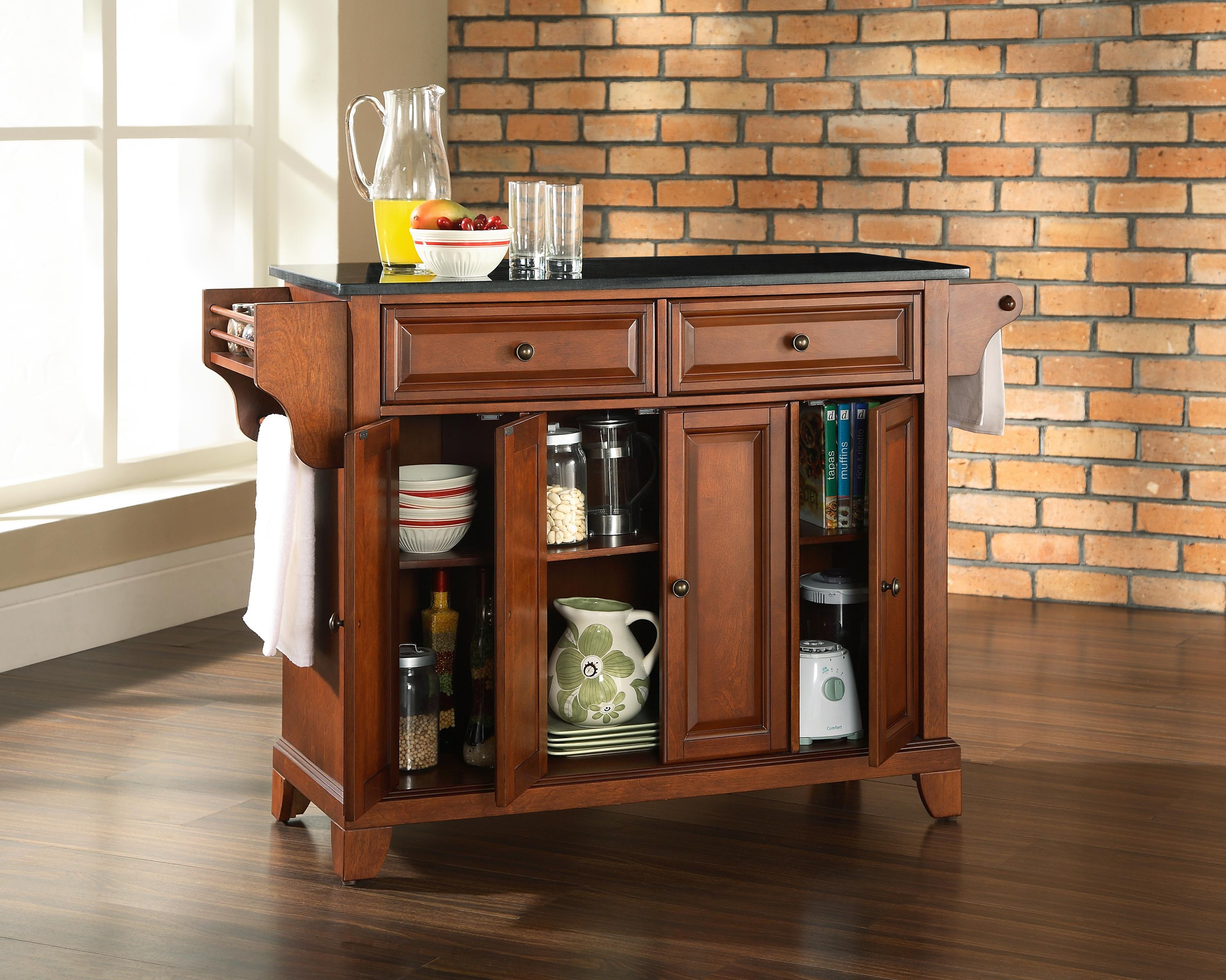 Cherry kitchen island cart – Kitchen ideas