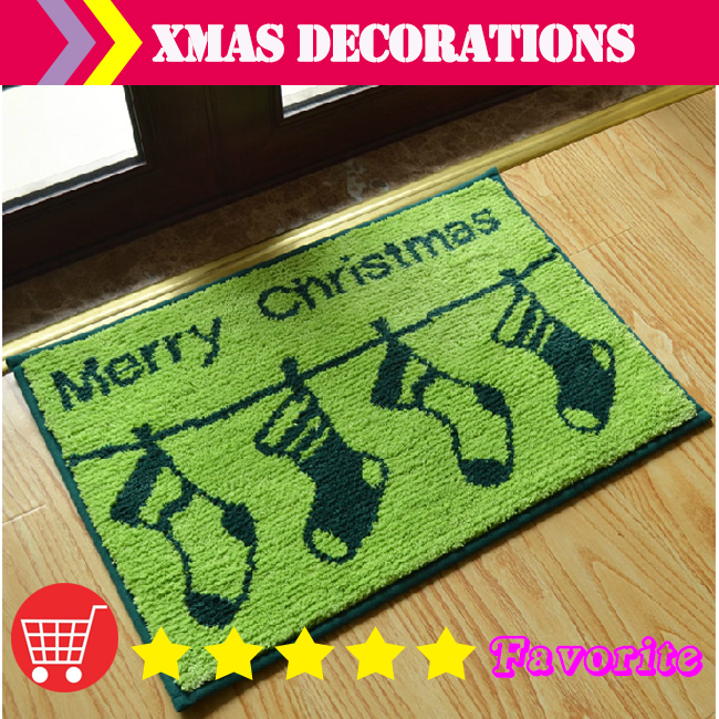 Christmas kitchen rugs photo - 2