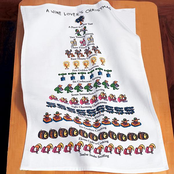Christmas kitchen towels photo - 1